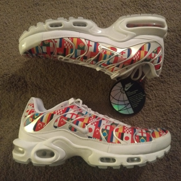 new product dc7c0 11b0b NEW Nike Air Max Plus One World TN 2018 World Cup